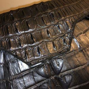 Raven Kauffman Bags - Raven Kauffman Couture Envelope Clutch Bag Black